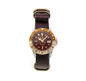 Image of N°8 Horween Shell Cordovan NATO Strap - Russian Grain #8