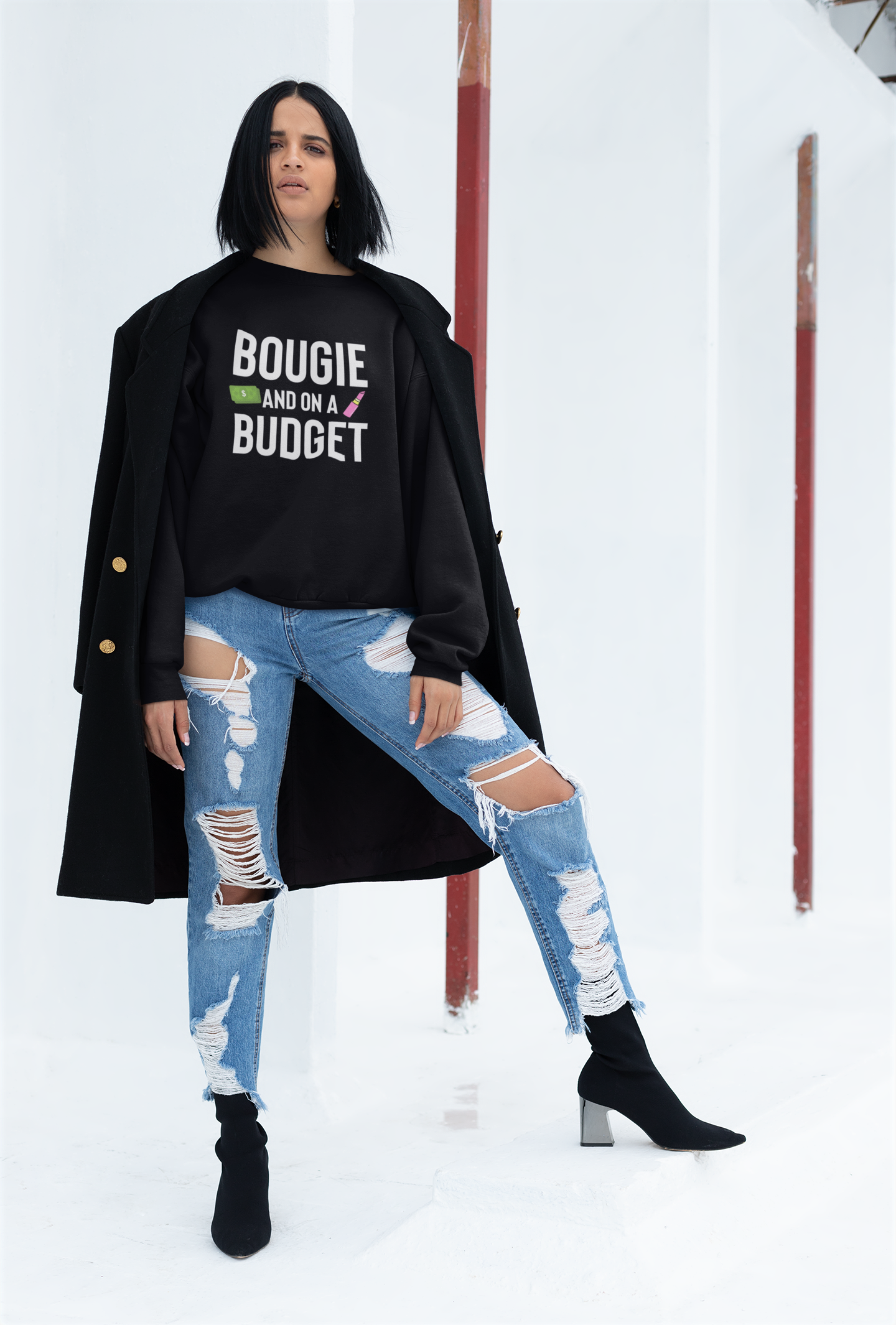 Image of BOUGIE BUDGET SWEATSHIRT