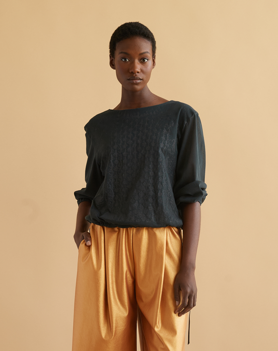 Image of Fisherman mesh top in storm
