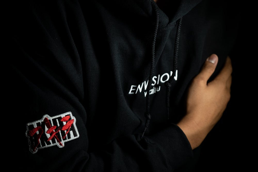 Image of AKIRA x ENVN Stitched Hoodie