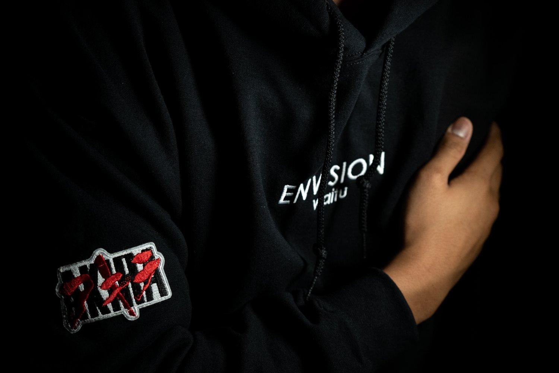 Image of AKIRA x ENVN Stitched Hoodie