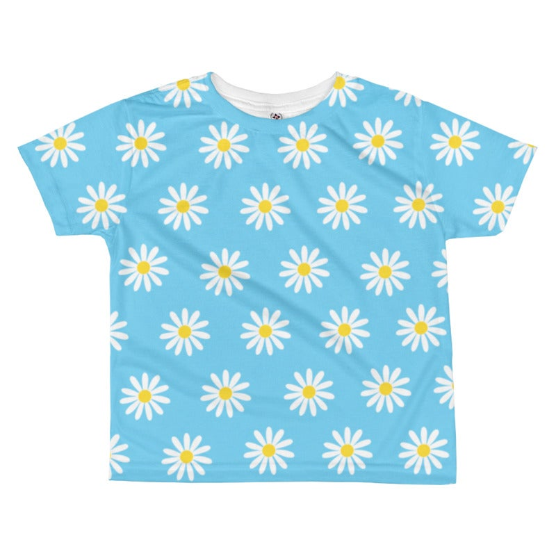 Image of Daisy Toddler Tee - Sky Blue