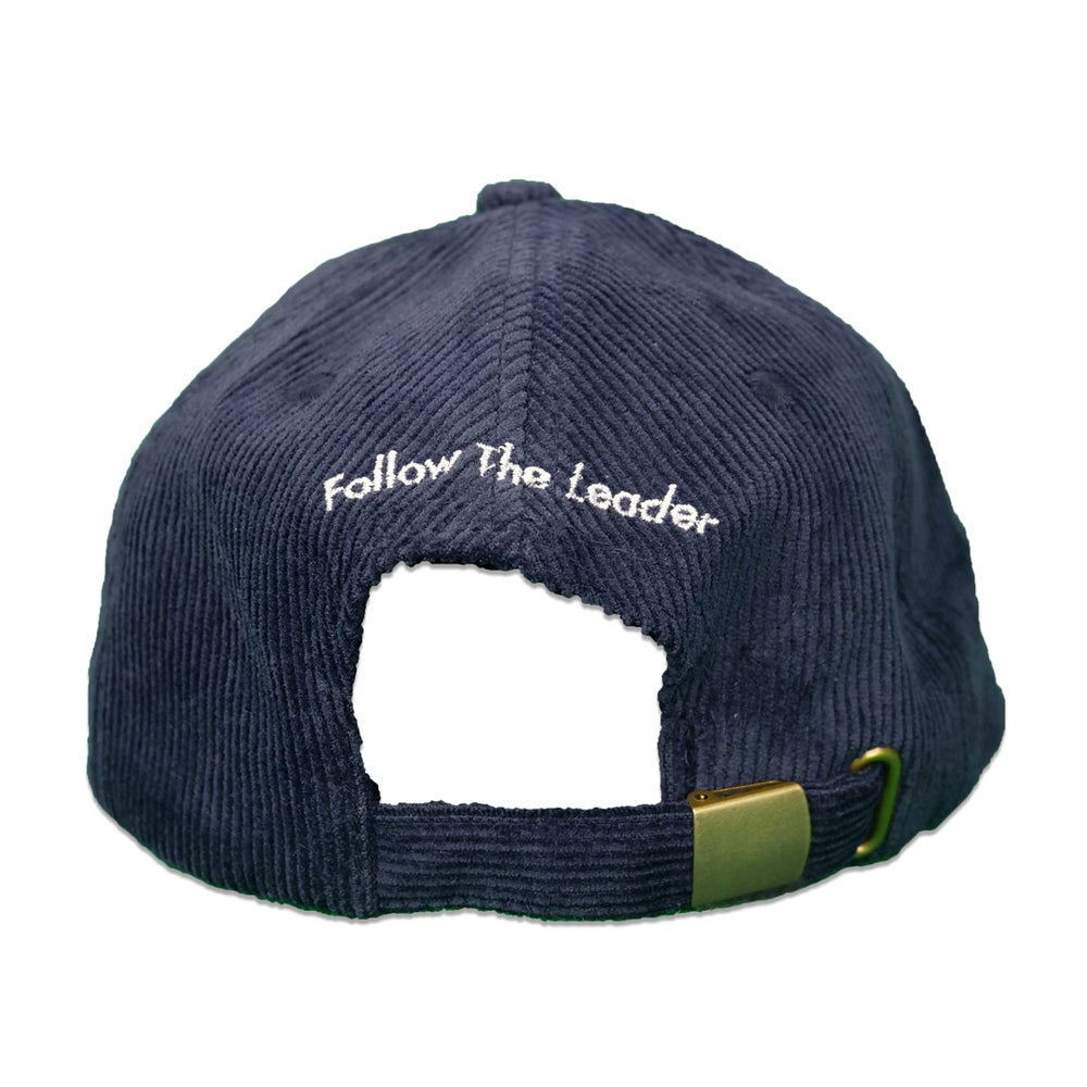 Image of Apple Corduroy Hat (Navy)
