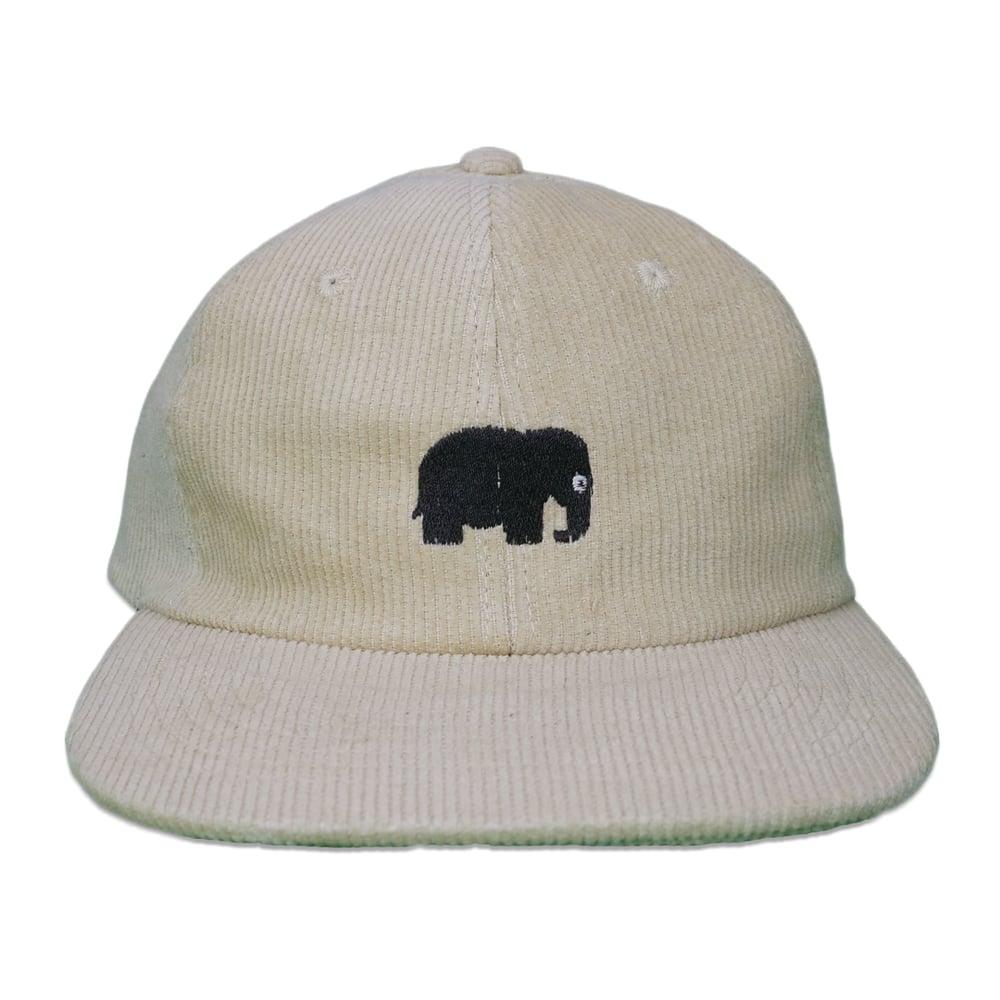 Image of Elephant Corduroy Hat (Tan)