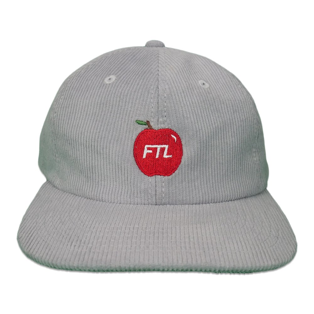Image of Apple Corduroy Hat (Grey)