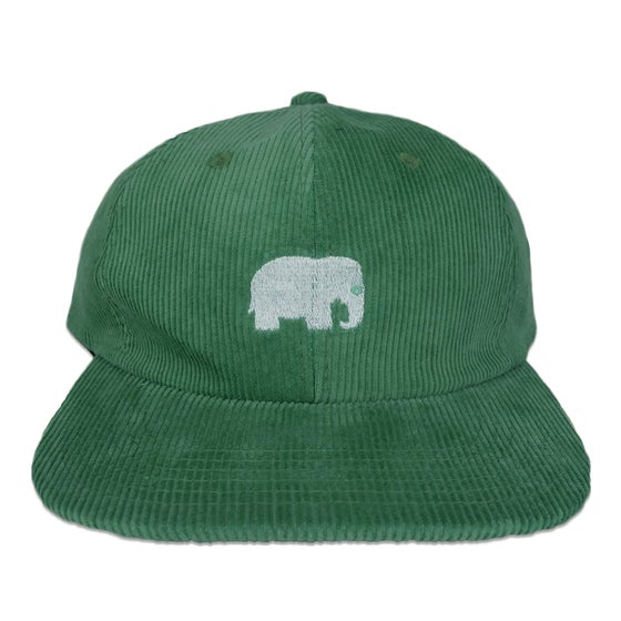 Image of Elephant Corduroy Hat (Mint)