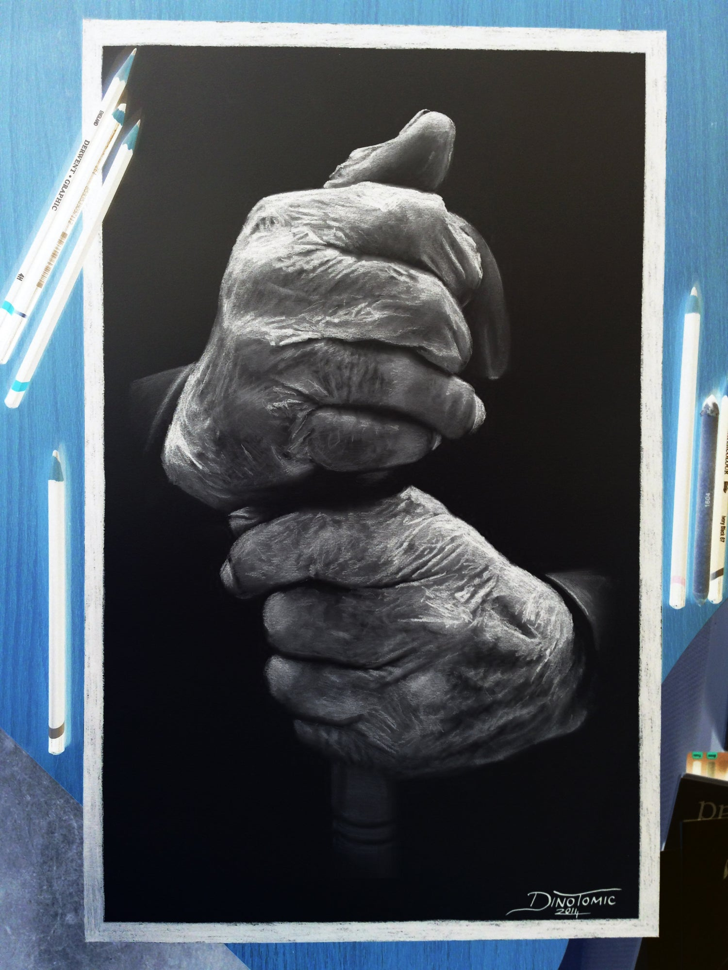 Image of #99 Inverted hands
