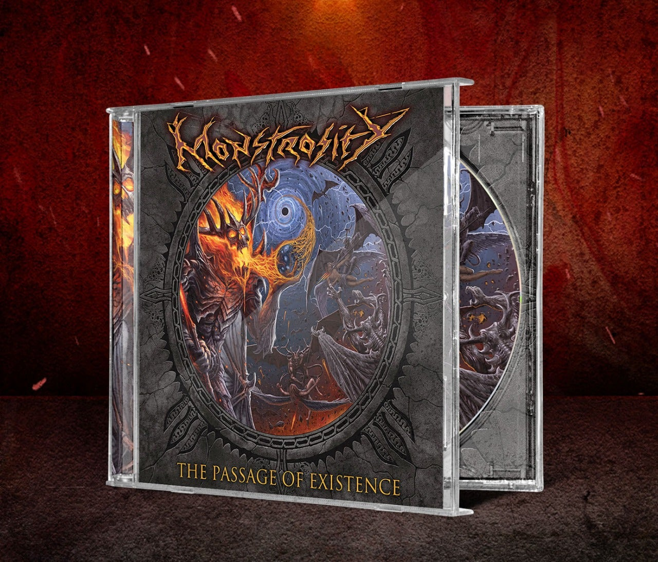 Image of MONSTROSITY - The Passage Of Existence CD & Tape