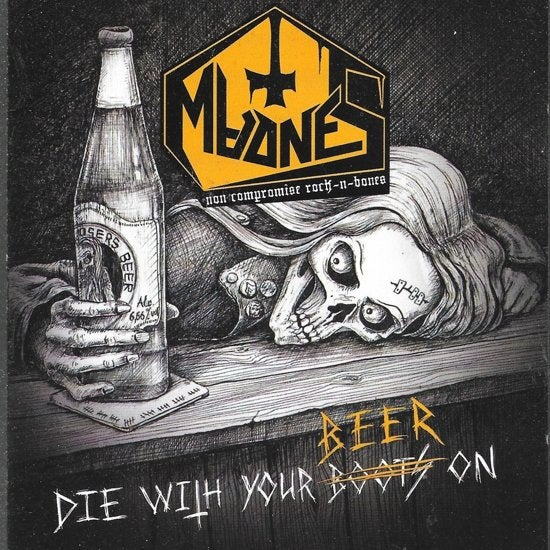 Image of MadneS - Die with your beer on CD
