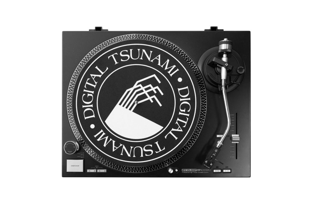 Image of Pair of Digital Tsunami Slipmats