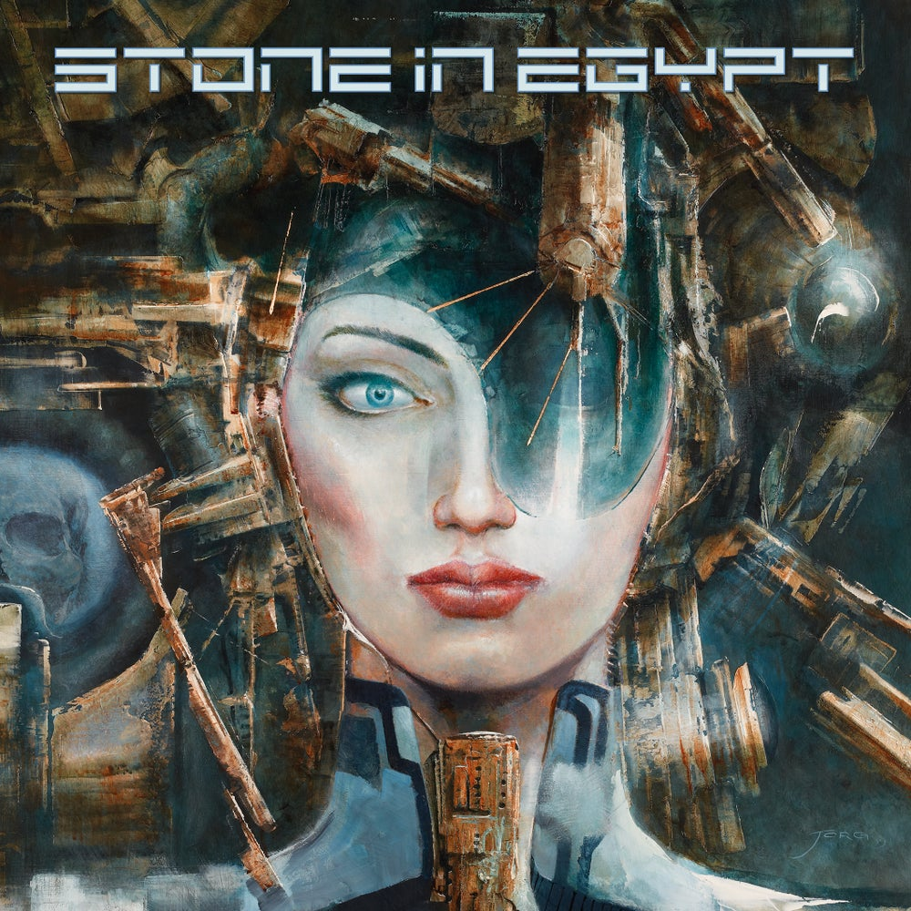 Image of STONE IN EGYPT - Stone in Egypt. Limited Edition Clear/Red/Blue Vinyl. Incl. Poster.