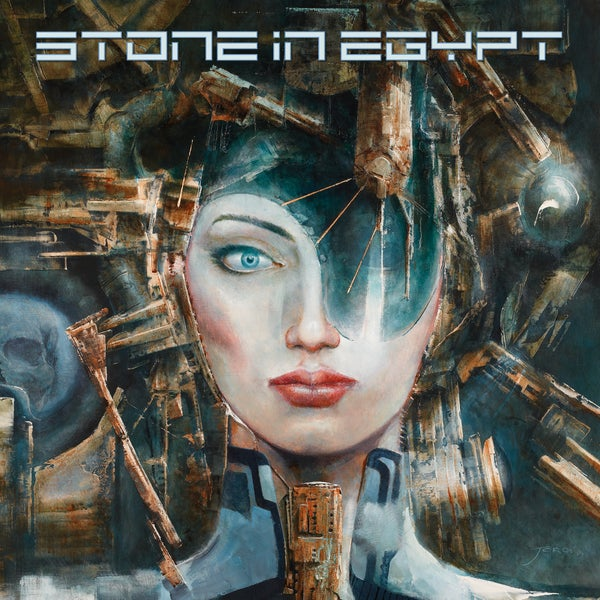 Image of STONE IN EGYPT - Stone in Egypt. Limited Edition Clear/Red/Blue Vinyl.