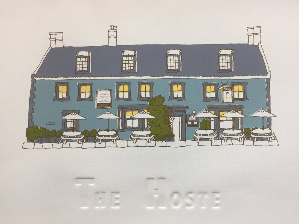Image of H is for 'The Hoste'