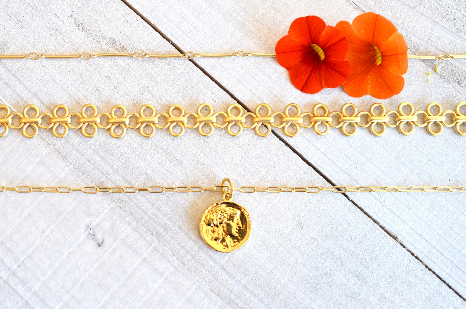 Divine Gold Necklaces