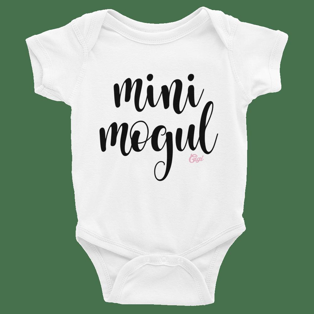 Image of MINI MOGUL BABY ONESIE