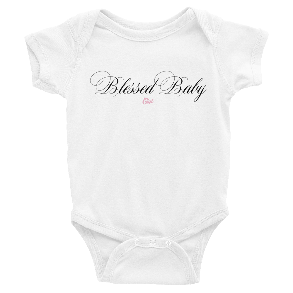 Image of BLESSED BABY ONESIE