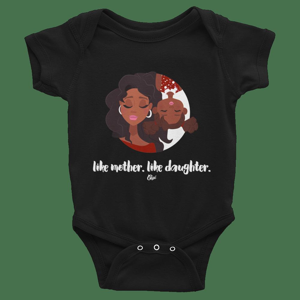 Image of LIKE MOTHER. LIKE DAUGHTER. ONESIE.