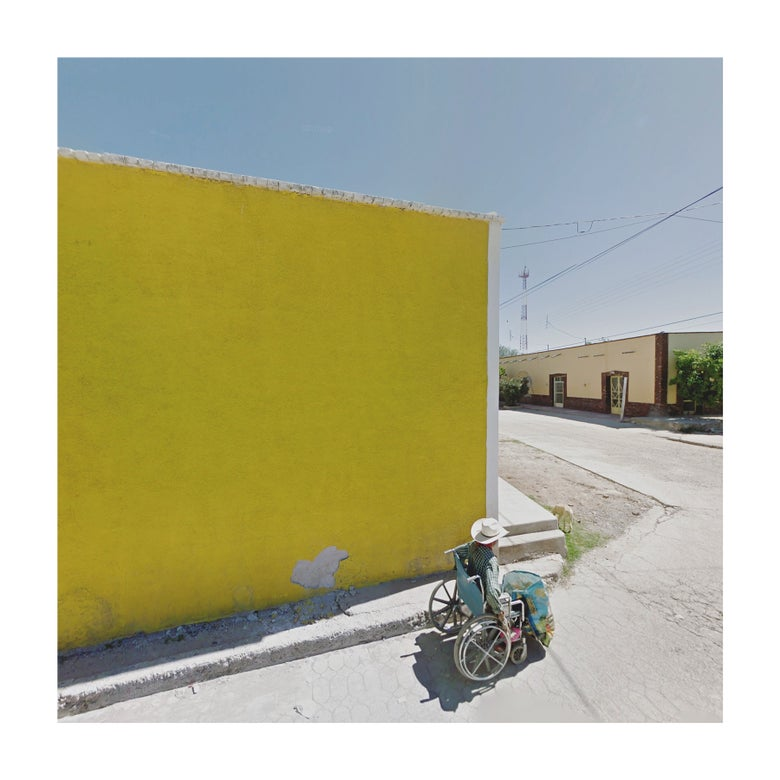 Image of Yellow Wall, Mexico