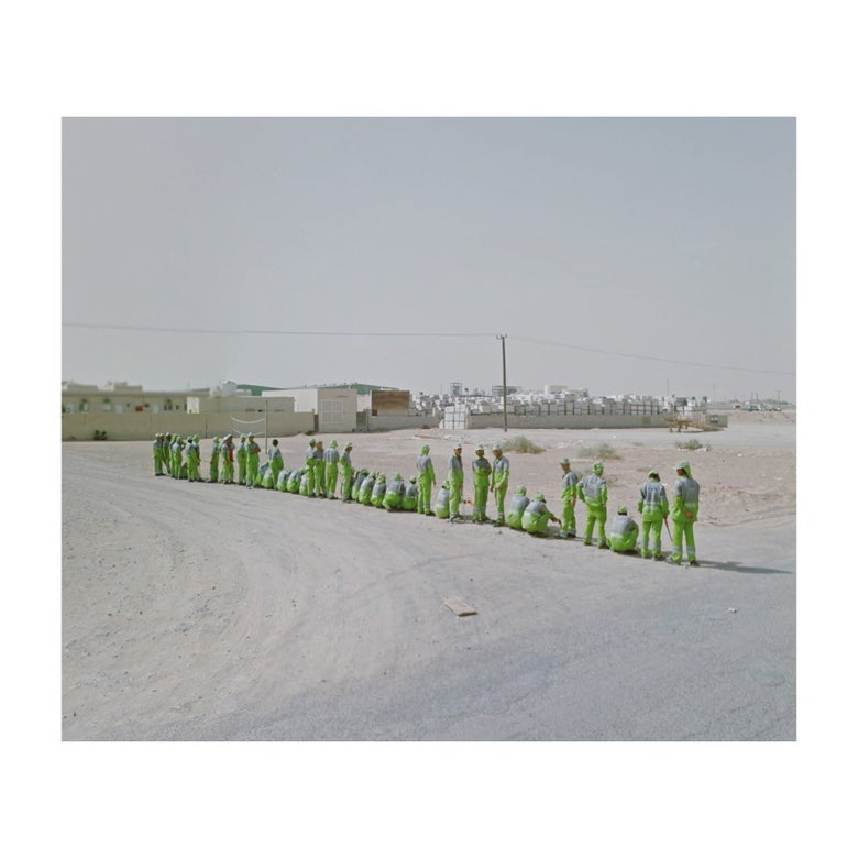 Image of Workers in Green, UAE | Limited Edition