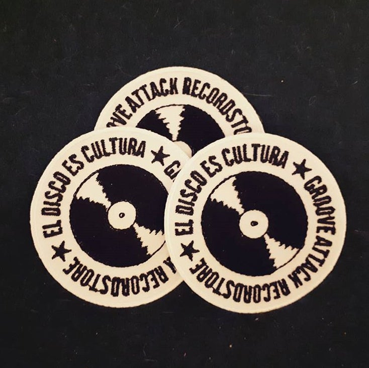 Image of El Disco Es Cultura - Patch (Groove Attack Recordstore)