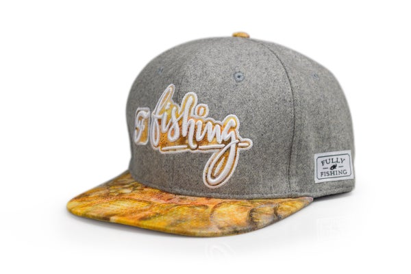 "Image of snapback ""fully fishing"""
