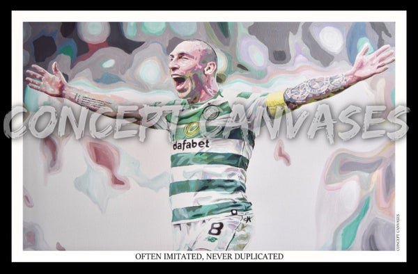 Image of Scott Brown 'Often Imitated, Never Duplicated' A3 Print