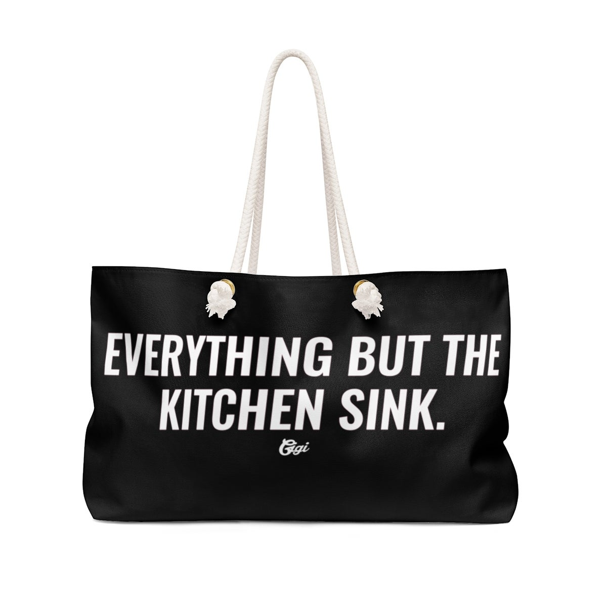 Image of EVERYTHING BUT THE KITCHEN SINK TOTE