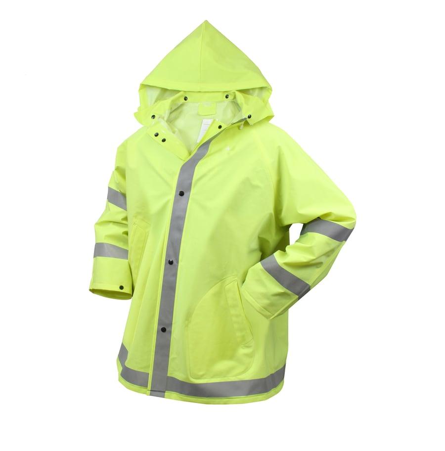 Image of Safety Reflective Rain Jacket