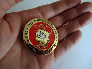 Image of 100 limited edition McBart coins