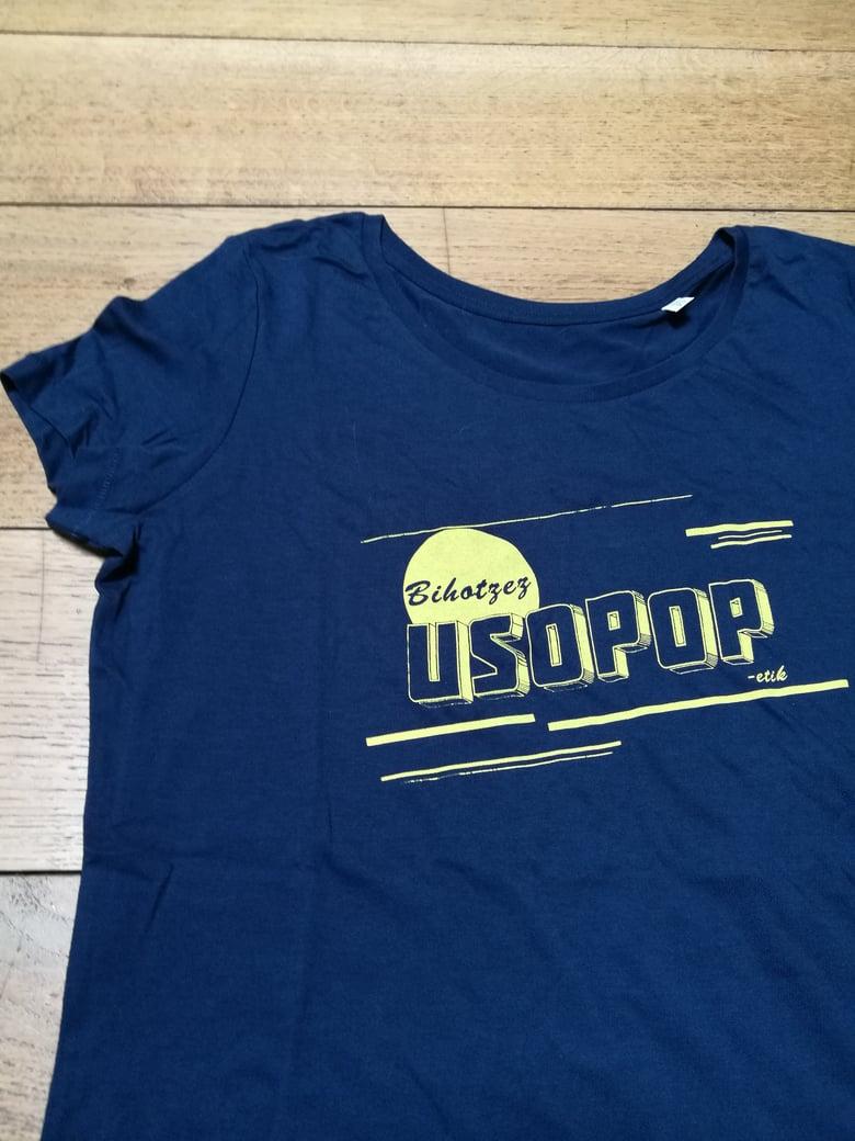 Image of Bihotzez USOPOP-etik / Girl Shirt