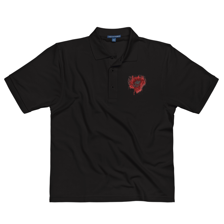 Image of bleeding heart polo