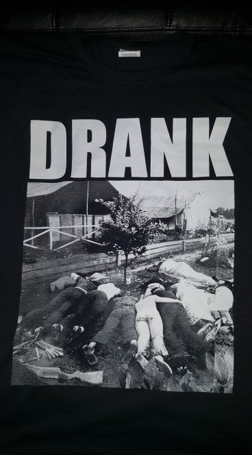 Image of CULT LEADER JIM JONES DRANK T SHIRT (IN STOCK)