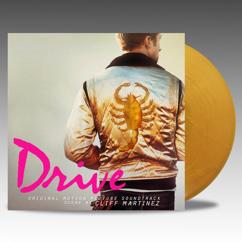 Image of Drive (Original Motion Picture Soundtrack) - Cliff Martinez 'Satin Gold' Vinyl