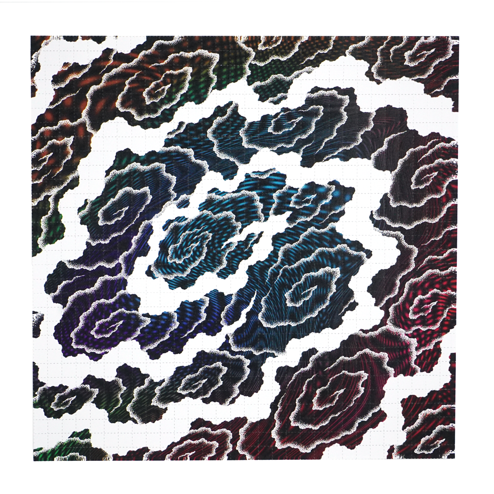 Image of Psychedelic Spiral Blotter Print
