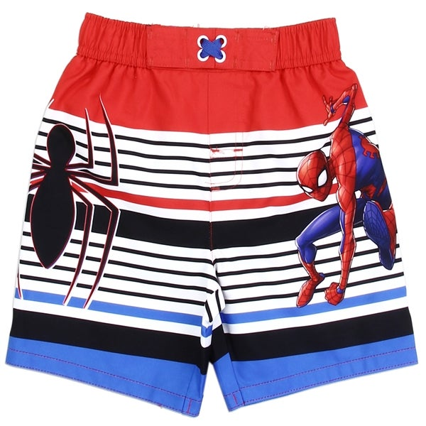 Image of Boys Toddler Spider Man Swimwear