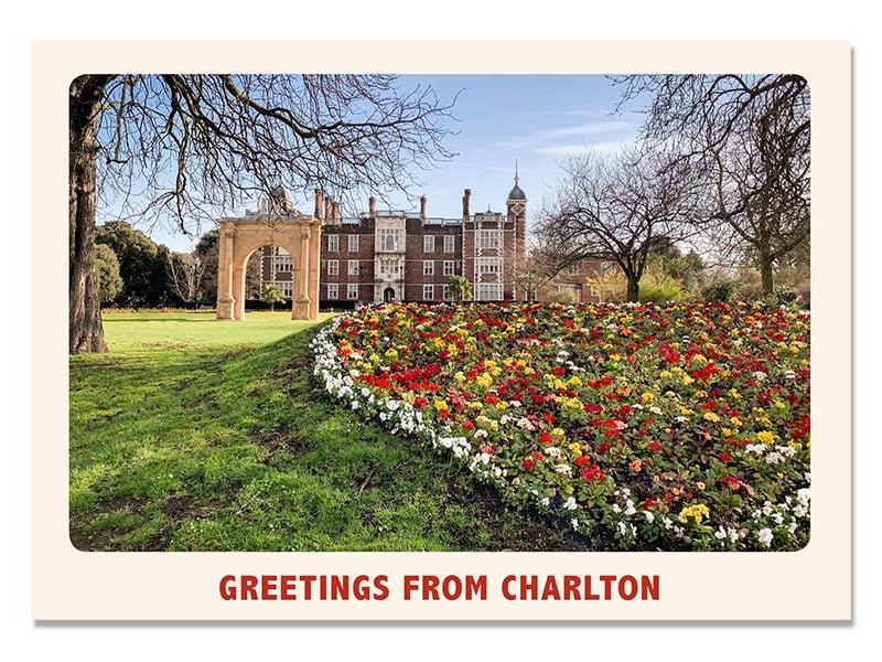 Image of Charlton House Postcard