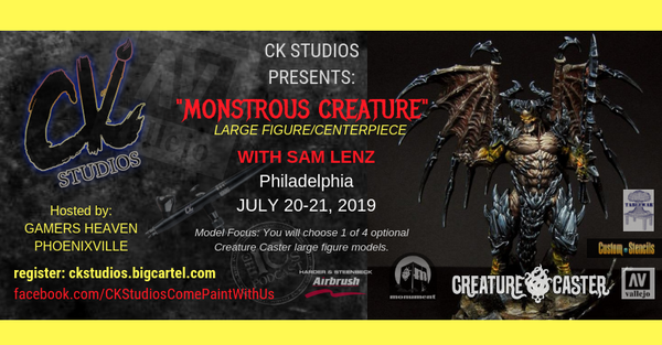 Image of Monstrous Creature, Philly with Sam Lenz - July 20-21 2019