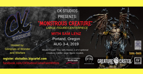 Image of Monstrous Creature, Portland with Sam Lenz - August 3-4 2019