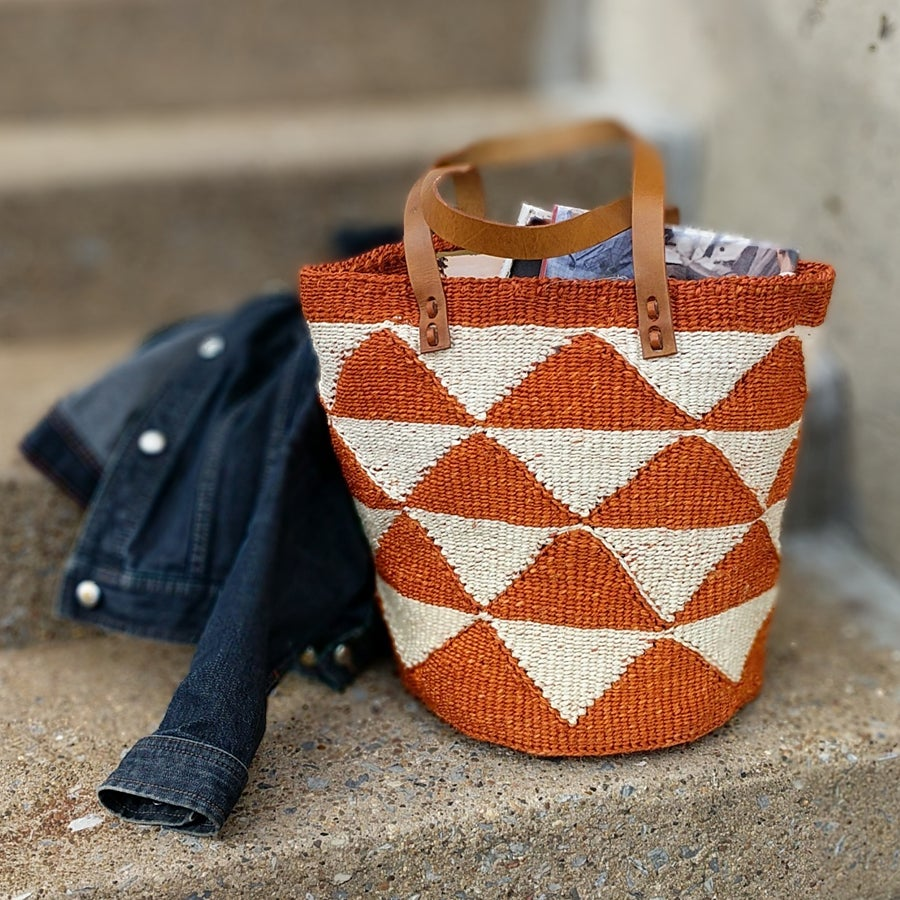 Image of Kilifi Tote - Rust