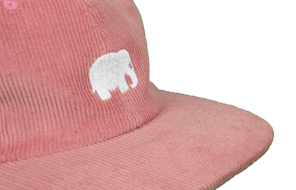 Image of Corduroy Elephant Hat (Watermelon)