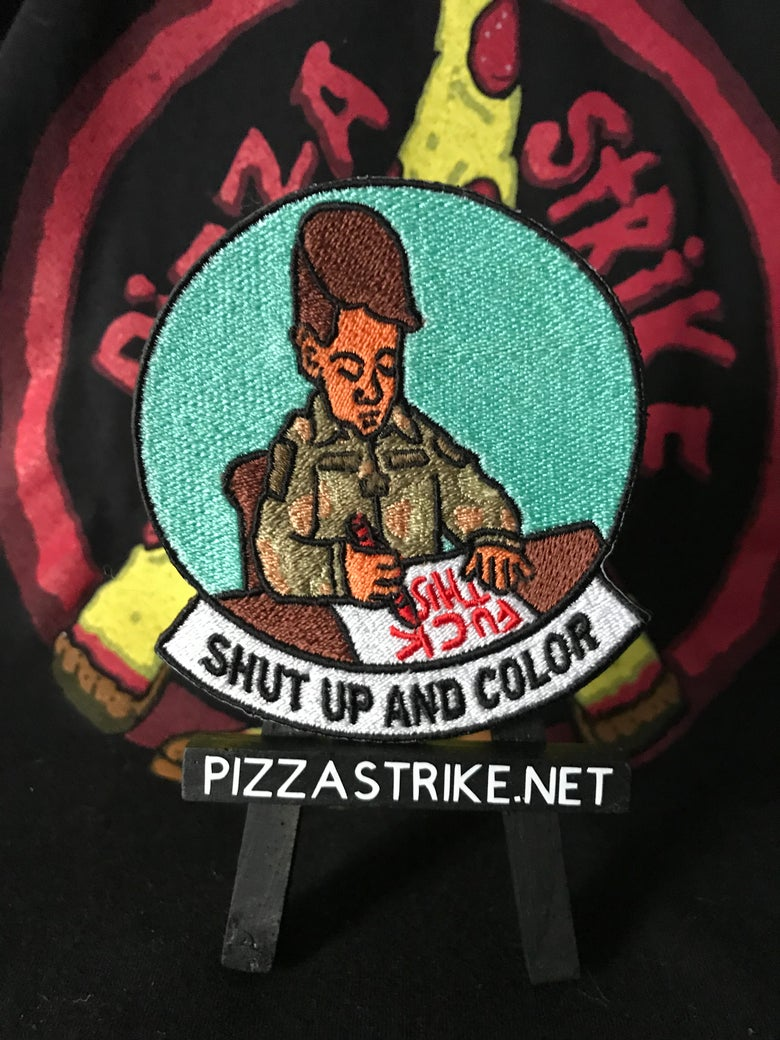 Image of Shut Up And Color Patch