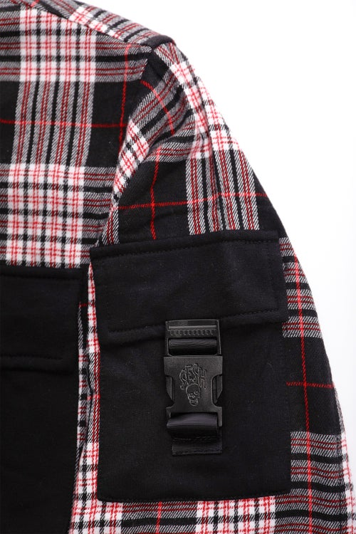 "Image of ""CREEP"" Cargo Flannel"
