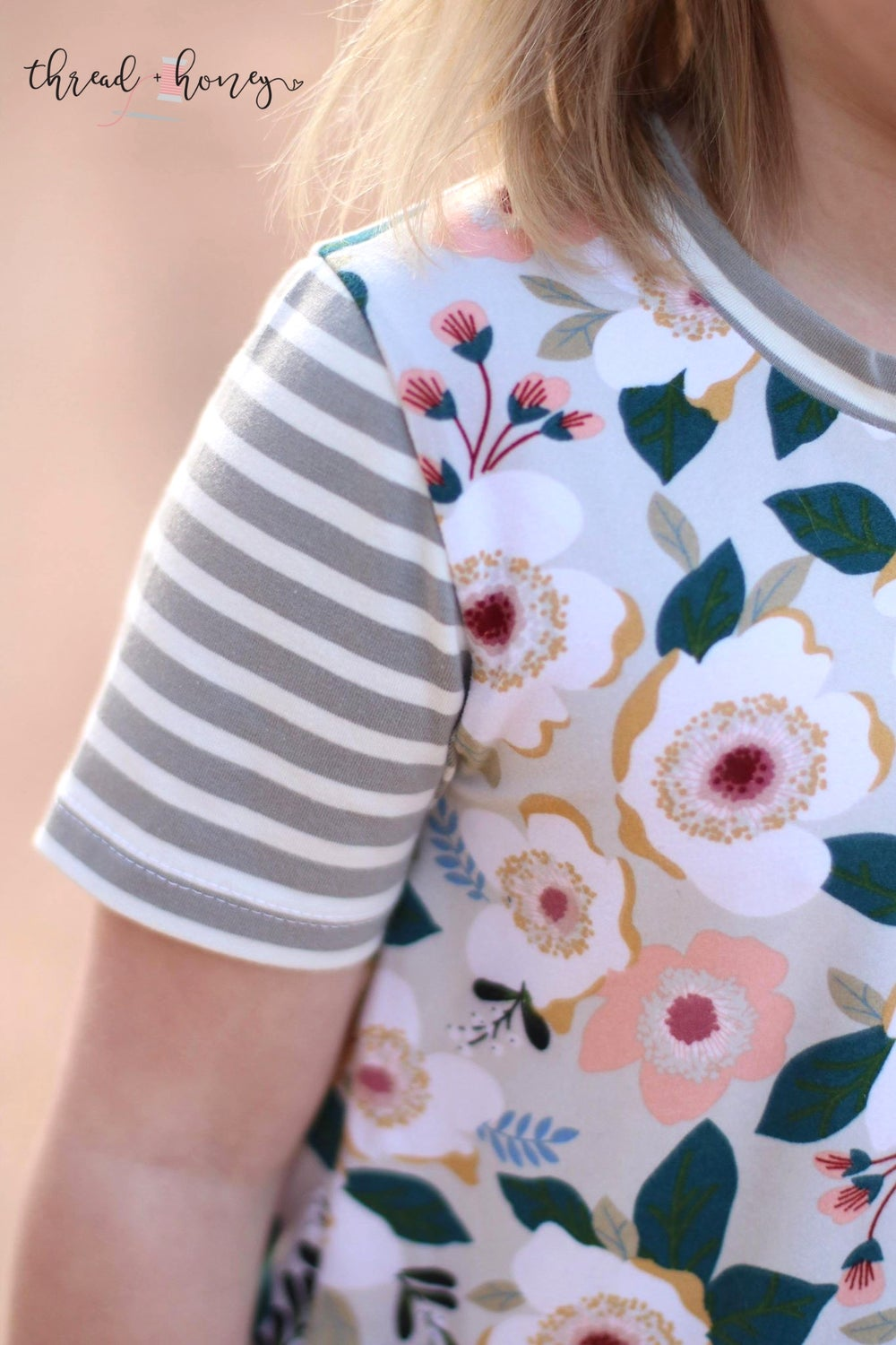 Image of Floral Peplum