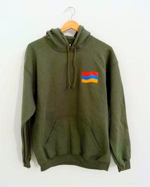Image of Social hoodie - Fedayee Green