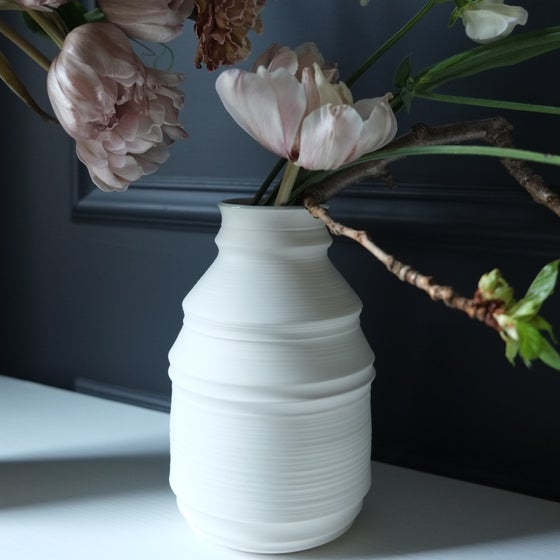 Image of Branch Vase, Warm White, #804