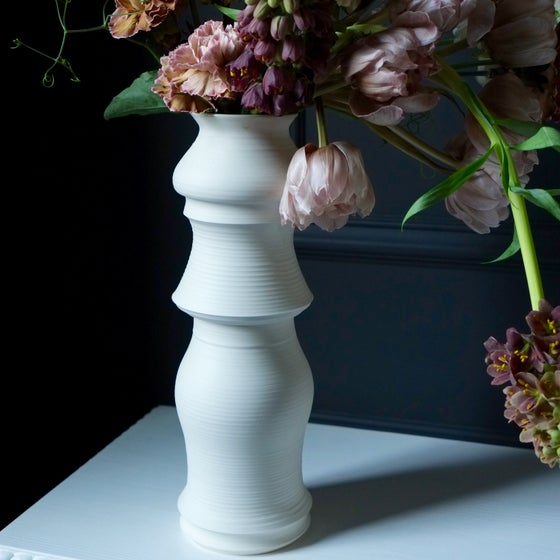 Image of Branch Vase, Warm White, #1225