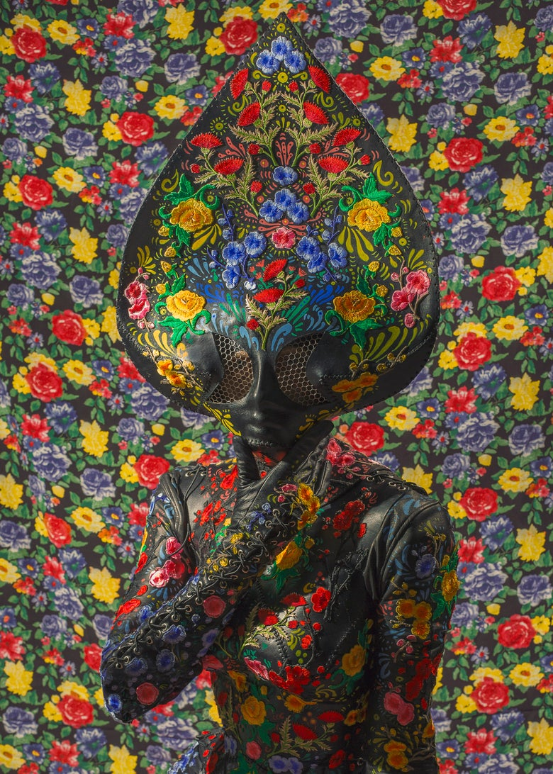 "Image of ""FLORAL ALIEN"" PRINT"