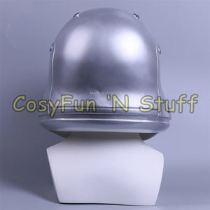Image of Silver Star Wars The Force Awakens Stormtrooper Handmade Cosplay Helmet