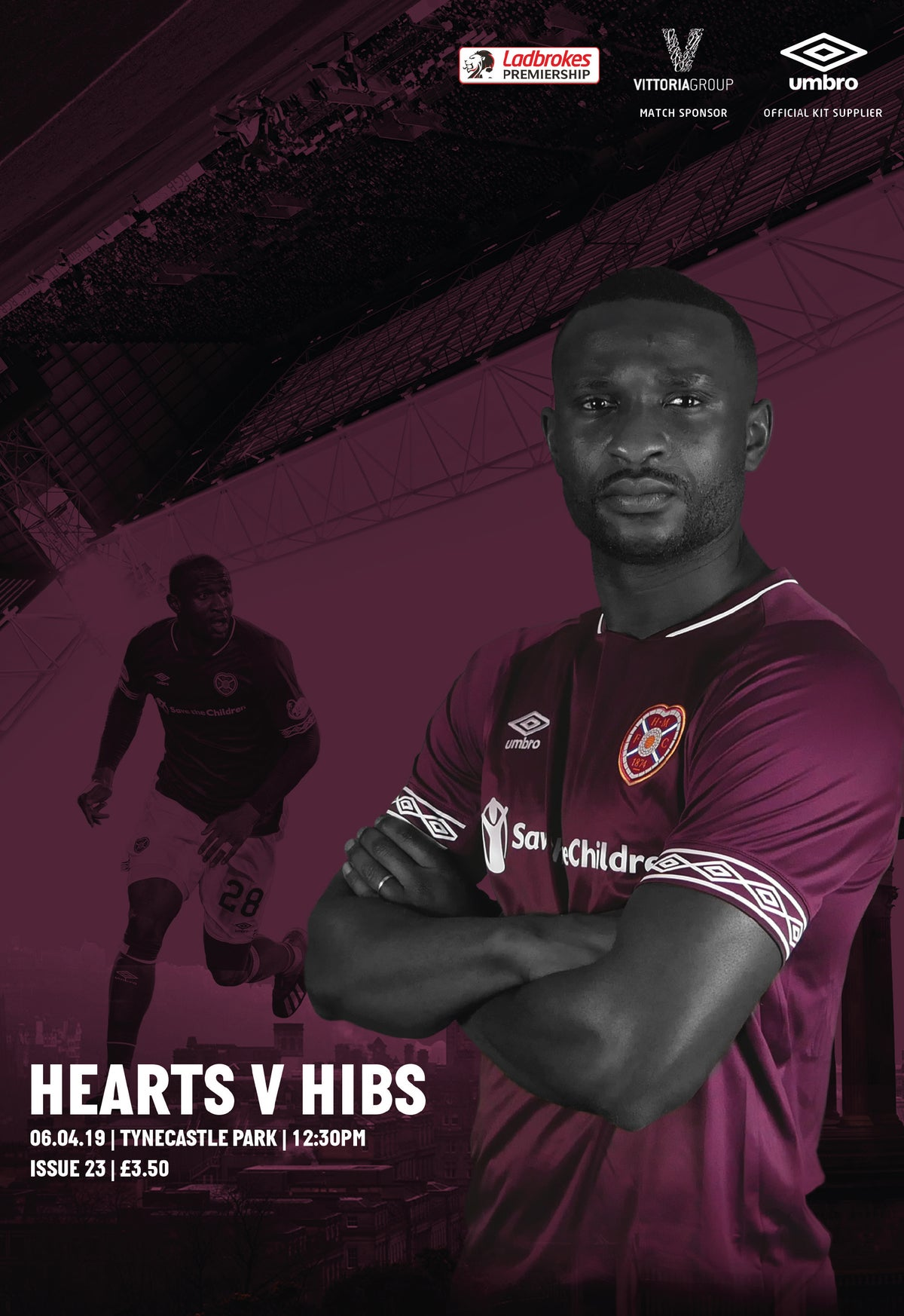 Image of Hearts v Hibs, 6th April 2019