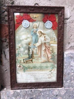 PAINTING: MEMORY FROM THE FIRST HOLY COMMUNION